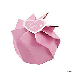 Pink Wedding Blossom Boxes