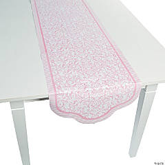 Pink Wedding Table Runner