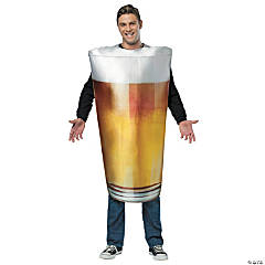 Pint Of Beer Adult Men's Costume