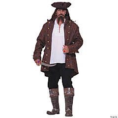 Pirate Captain Plus Size Adult Men's Costume