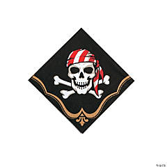 Pirate Paper Beverage Napkins