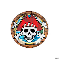 Pirate Party Dessert Plates