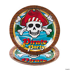 Pirate Party Paper Dinner Plates