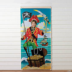 Pirate Party Photo Door Banner