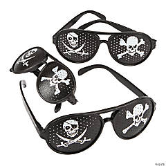 Pirate Pinhole Glasses