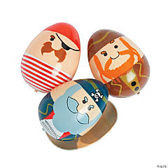 Pirate Plastic Easter Eggs