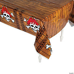 Pirate Plastic Tablecloth