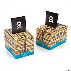 Pirate Ship Favor Boxes