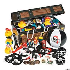 Pirate Treasure Chest Toy Assortment