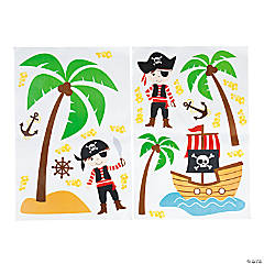 Pirate Wall Clings