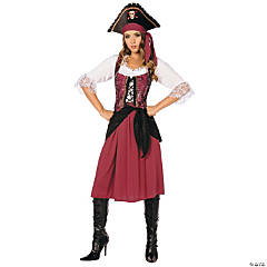 Pirate Wench Adult Women's Costume