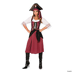 Pirate Wench Costume for Women