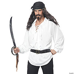 Pirate Wig & Facial Hair