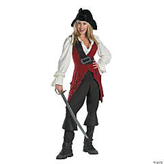 Pirates of the Caribbean Elizabeth Pirate Deluxe Adult Women's Costume