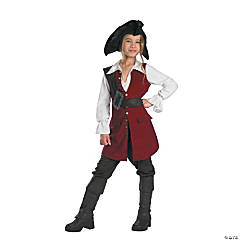 Pirates of the Caribbean Elizabeth Pirate Girl's Deluxe Costume