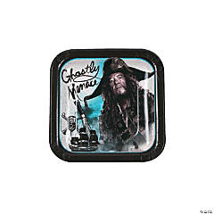 Pirates of the Caribbean Square Paper Dessert Plates