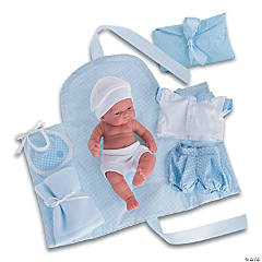 Pitu Baby Boy Doll With Changing Pad