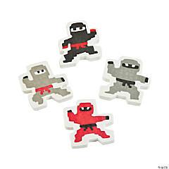 Pixel Ninja Erasers