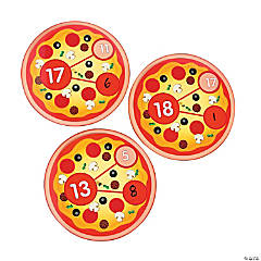 Pizza Number Bond Wheels