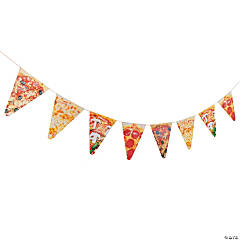 Pizza Pennant Banner