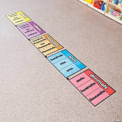 Place Value Floor Clings