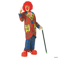 Plaid Pickles Kid's Clown Costume