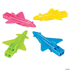 Plane-Shaped Whistles