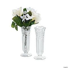 Plastic Bud Vases