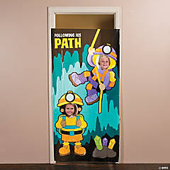 Plastic Cave Explorer Photo Door Banner