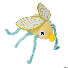 Plastic Egg Fireflies Craft Kit