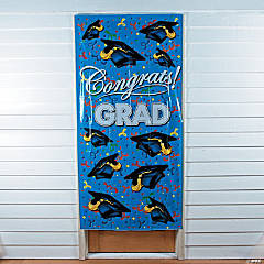 Plastic Graduation Door Cover