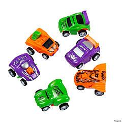 Plastic Pullback Mini Racers