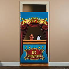 Plastic Puppet Show Door Banner