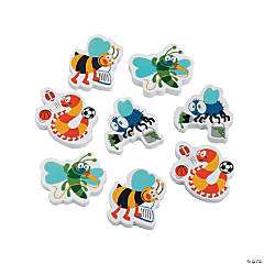 Playful Bug Erasers