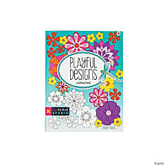 Playful Designs Adult Coloring Book