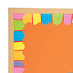 Playful Pattern Wavy Bulletin Board Borders