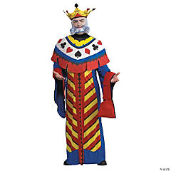 Playing Card King Adult Men's Costume