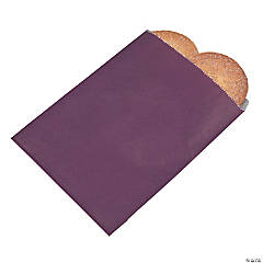 Plum Parchment Treat Bags