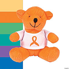 Plush Awareness Ribbon Bears