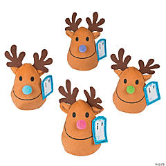 Plush Bean Bag Reindeer
