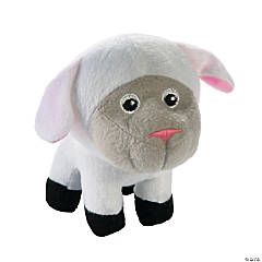 Plush Big Head Lambs