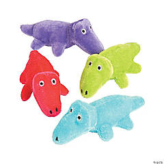 Plush Bright Alligators
