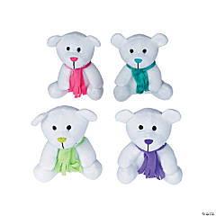 Plush Bright Holiday Bears