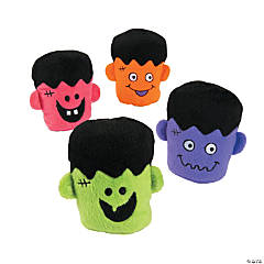 Plush Bright Monster Heads