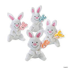 Plush Bunnies with Sucker