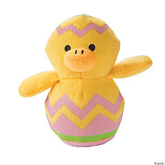 Plush Chicks in Easter Eggs
