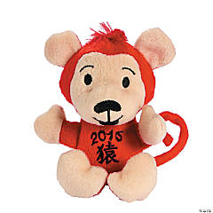 Plush Chinese New Year Monkeys