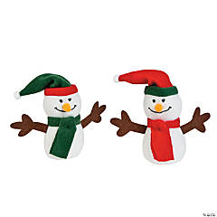 Plush Christmas Snowmen