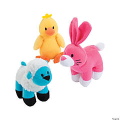 Plush Easter Bunny & Friends