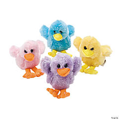 Plush Easter Chicks